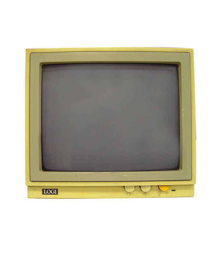 LOGI CRT Monitor VGA