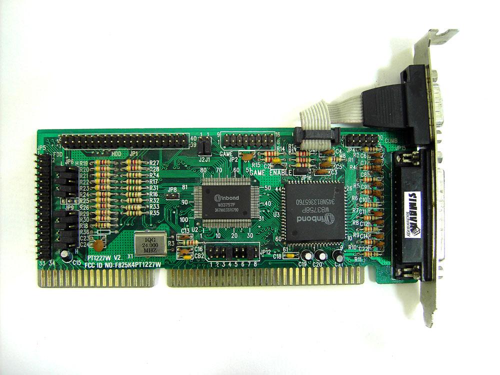 IO board pc286