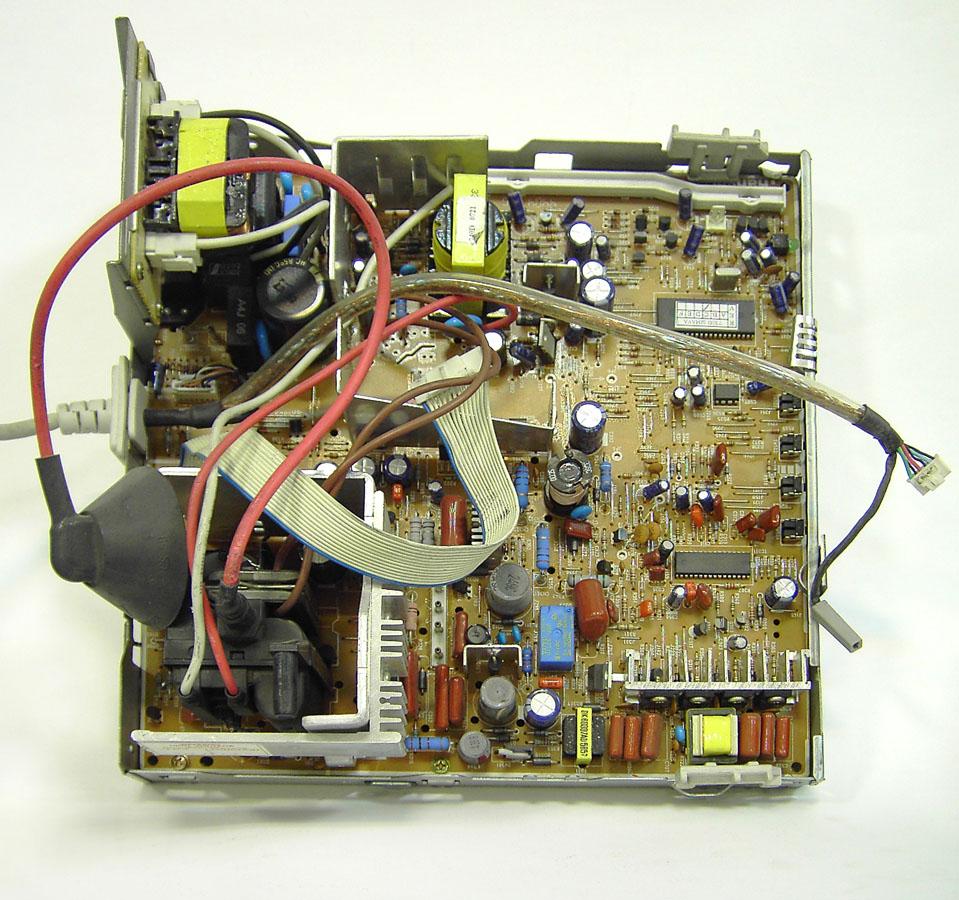 CRT Monitor Main Chasis